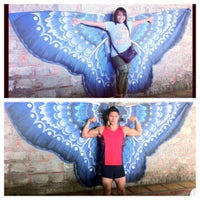 Photo taken at Butterfly Haven Pulilan by Chinchin C. on 4/24/2012
