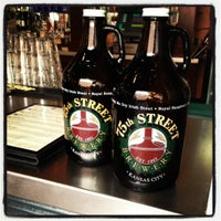 Photo taken at 75th Street Brewery by Kristin H. on 3/10/2012