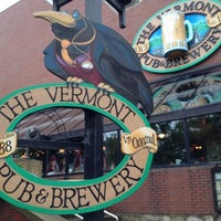 Photo taken at Vermont Pub & Brewery by Joe S. on 6/26/2012