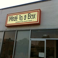 Photo taken at Meat in a Box by Vahid O. on 6/19/2012