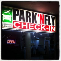 Photo taken at Park 'N Fly by noemi d. on 5/2/2012