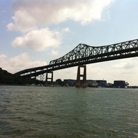 Photo taken at Maurice J. Tobin Memorial Bridge by Ian N. on 7/4/2012