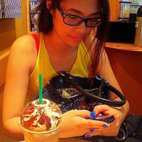 Photo taken at Starbucks Coffee by Mabbiey M. on 4/19/2012