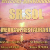 Photo taken at Sr. Sol Mexican Restaurant by Claire L. on 5/22/2012