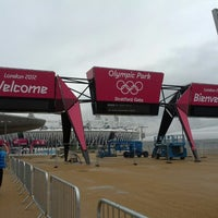 Photo taken at London 2012 Olympic Park by Luke D. on 7/14/2012
