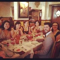 Photo taken at Tasca Spanish Tapas Restaurant & Bar by Kate Z. on 4/20/2012
