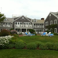 Photo taken at The Brant Point Grill at The White Elephant Hotel by Bruce S. on 7/7/2012