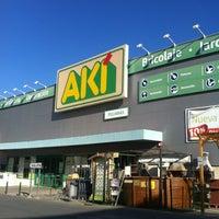 Photo taken at AKI Bricolaje by Antonio E. on 9/3/2012