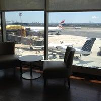 Photo taken at British Airways Galleries Lounge by Cynthia D. on 6/8/2012