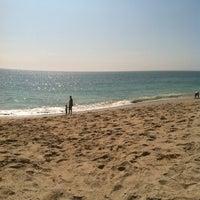 Photo taken at Aliso Beach by Rhonda on 9/4/2012