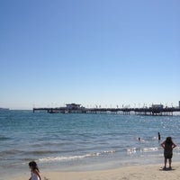Photo taken at Belmont Veterans Memorial Pier by Gus-Daisy T. on 8/5/2012