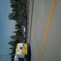 Photo taken at S. Everett Park & Ride by Andrew C. on 4/10/2012