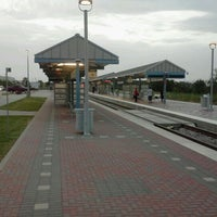 Photo taken at CentrePort / DFW Airport Station (TRE, DART bus, The T) by Spencer K. on 7/11/2012