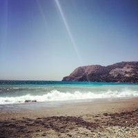 Photo taken at La Herradura Beach by Anabel M. on 8/13/2012
