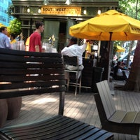 Photo taken at Southwest Porch at Bryant Park by Don B. on 6/20/2012