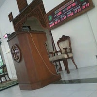 Photo taken at Masjid Baiturozaq Citraland by RAUL S. on 7/27/2012