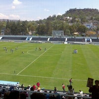 Photo taken at Estadio 10 de Diciembre by Jorge M. on 3/11/2012