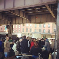 Photo taken at New Amsterdam Market by Lauren Y. on 4/29/2012