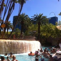 Photo taken at Grand Pool Complex Lazy River by Brandon G. on 7/27/2012