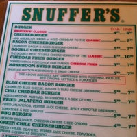 Photo taken at Snuffer's by Joe S. on 6/9/2012