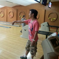 Photo taken at Lanna Bowling - Chiang Mai by Mike F. on 2/18/2012