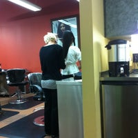 Photo taken at HQ Salon by Cicelle D. on 5/18/2012