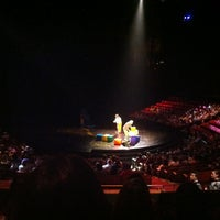 Photo taken at La Nouba by Cirque du Soleil by Rachael H. on 6/9/2012