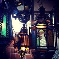 Photo taken at Kous Kous Moroccan Bistro by Kevin W. on 4/9/2012