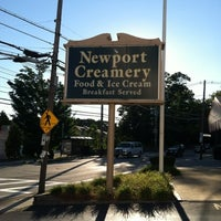 Photo taken at Newport Creamery by Jay C. on 8/6/2012