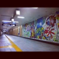 Photo taken at Kita-sando Station (F14) by Masayoshi T. on 9/5/2012