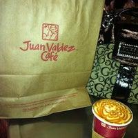 Photo taken at Juan Valdez Café by Jaqueline on 2/23/2012