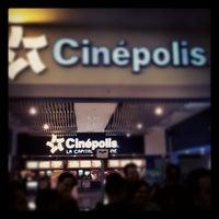 Photo taken at Cinépolis by Fernando G. on 7/27/2012