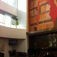 Photo taken at Hotel Mercure Santiago Centro by Rodrigo Lage C. on 8/1/2012