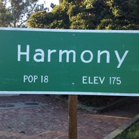 Photo taken at Harmony, CA by Sarah R. on 8/21/2012