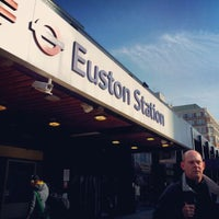 Photo taken at London Euston Railway Station (EUS) by Shakeel S. on 4/20/2012