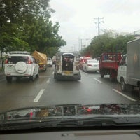 Photo taken at Carlos P. Garcia Avenue by Mark M. on 7/31/2012