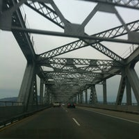 Photo taken at Richmond-San Rafael Bridge by Riley W. on 2/19/2012