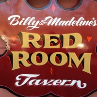 Photo taken at Billy & Madeline's Red Room Tavern by Corner T. on 3/11/2012