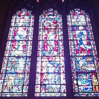 Photo taken at Washington National Cathedral by Jennifer H. on 5/2/2012