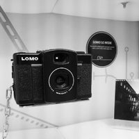 Photo taken at Lomography Gallery Store Manchester by Clarke O. on 7/7/2012