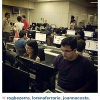 Photo taken at Folha de Pernambuco by Priscilla A. on 4/25/2012