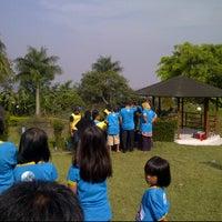 Photo taken at Villa Ciburial by Muhammad S. on 7/15/2012