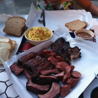 Photo taken at Ruby's BBQ by Aaron H. on 4/14/2012