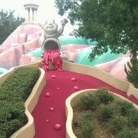 Photo taken at Fantasia Gardens Miniature Golf by Stephanie A. on 9/11/2012