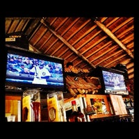 Photo taken at The Hut Bar and Grill by Justin ⚓. on 4/10/2012