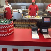 Photo taken at Five Guys by Justin S. on 3/22/2012