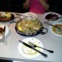 Photo taken at Tapeo Restaurant and Tapas Bar by Jade A. on 8/2/2012