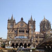 Photo taken at Chhatrapati Shivaji Terminus by Hisao on 3/18/2012