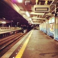 Photo taken at Keisei Sekiya Station (KS06) by ロンゴロンゴ on 8/13/2012