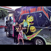Photo taken at Westside Food Truck Central by Yeyen on 9/6/2012